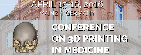 1st Conference on 3D Printing in Medicine Banner